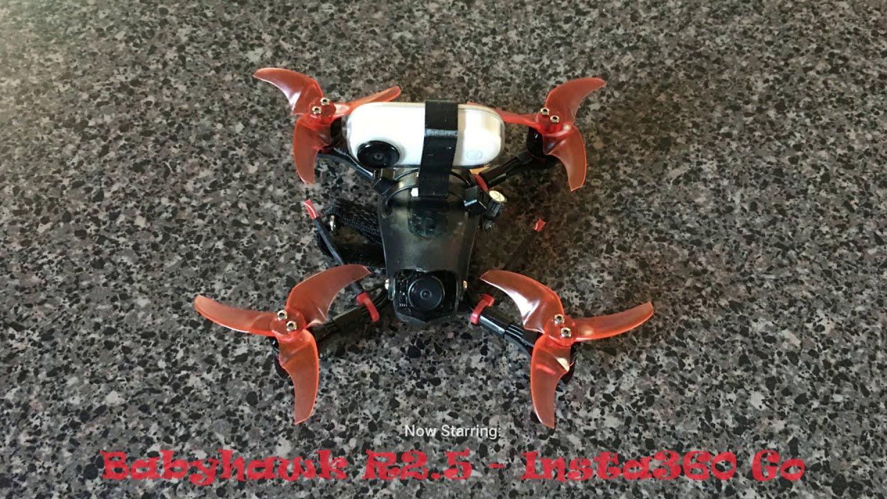Insta360 Go FPV Stabilization Mode! (Babyhawk R2.5) картинки