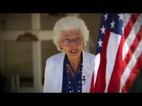 """102 year old: """"If you don't vote you've al..."""