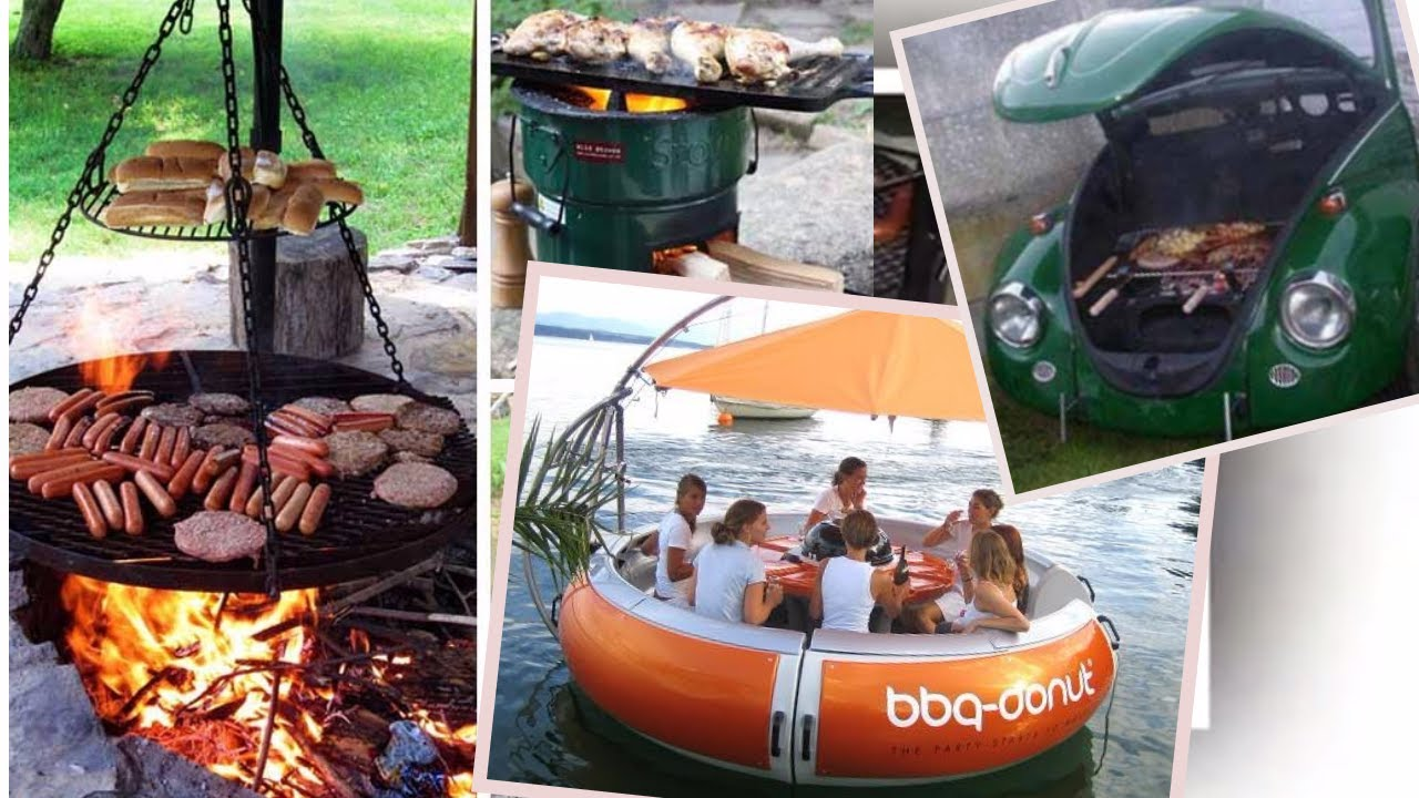 35 Cool and Creative BBQ Grills. Home Design Ideas - YouTube