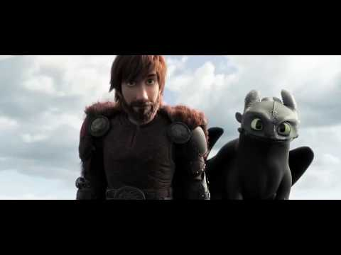 How To Train Your Dragon: The Hidden World Trailer Song (Ed Sheeran - Castle On The Hill)
