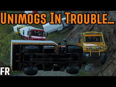 Forza Horizon 4 Course Creator - Unimogs In Trouble...