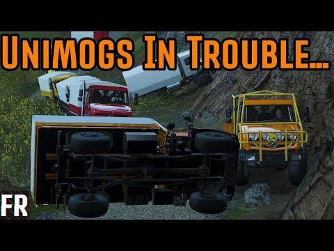 Forza Horizon 4 Course Creator - Unimogs In Trouble... thumbnail
