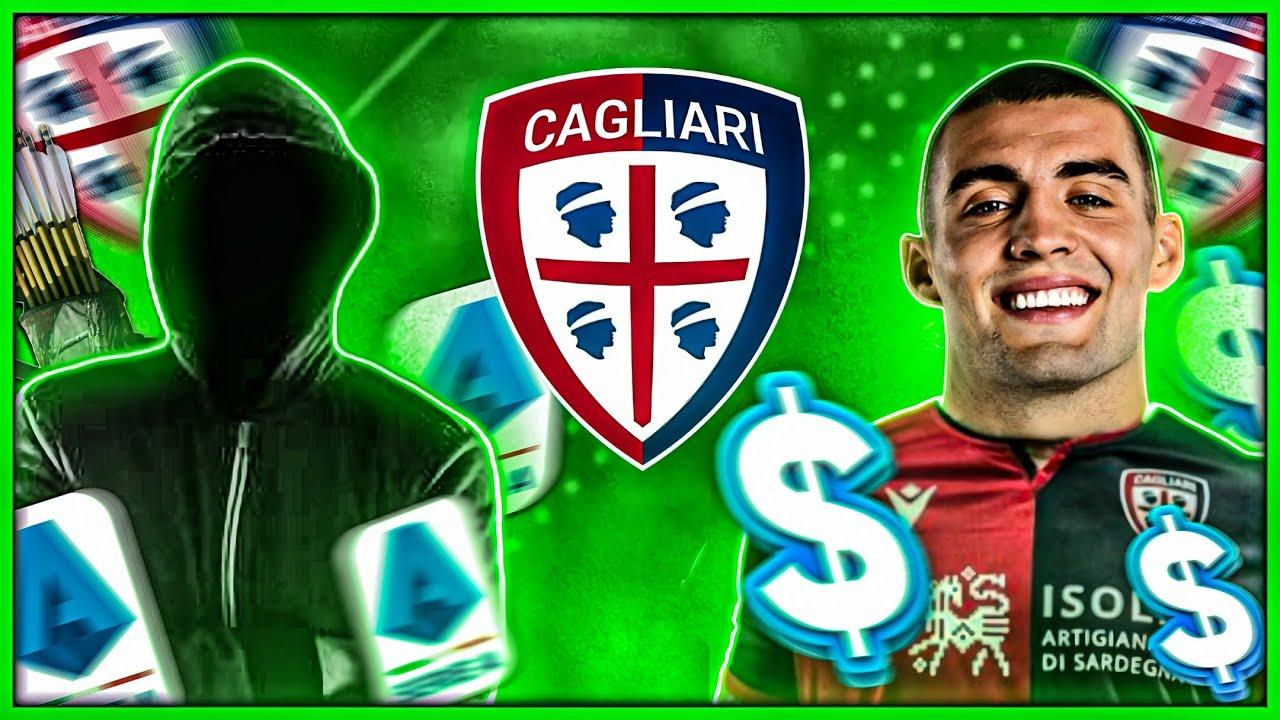 CAGLIARI será a NOVA JUVENTUS na Itália!   Mini Carreira INVESTIDOR SECRETO #6   FIFA 20