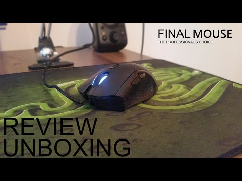 FINALMOUSE 2016 Ergo Classic: Unboxing, Review.