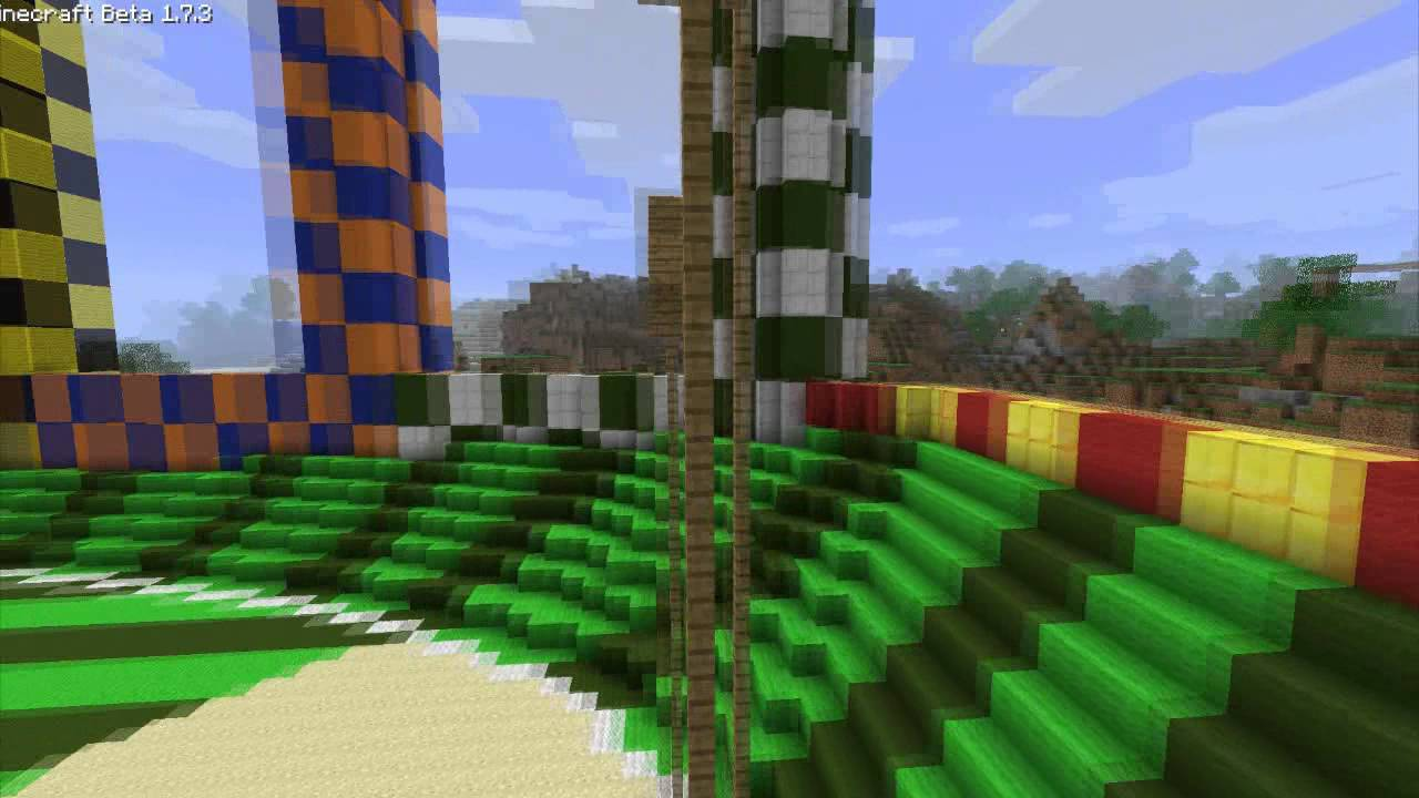 Minecraft Harry Potter Quidditch Pitch 11 Scale YouTube