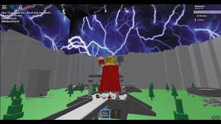 I MET THE CREA-THOR - Roblox Super Heroes