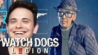 HAKOWANIE BABCIĄ HELENKĄ - WATCH DOGS LEGION
