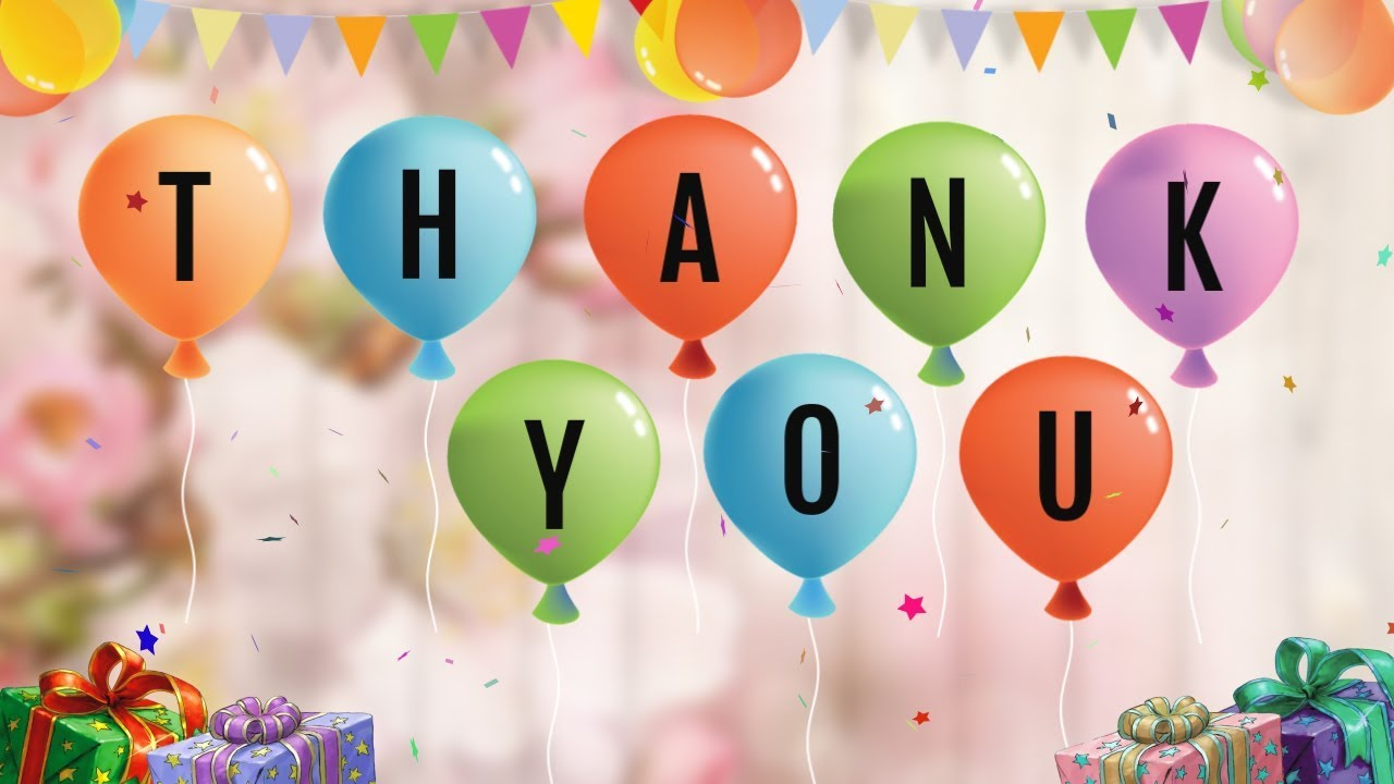 Thank You Note For Birthday Wishes 4k Pictures 4k Pictures Full