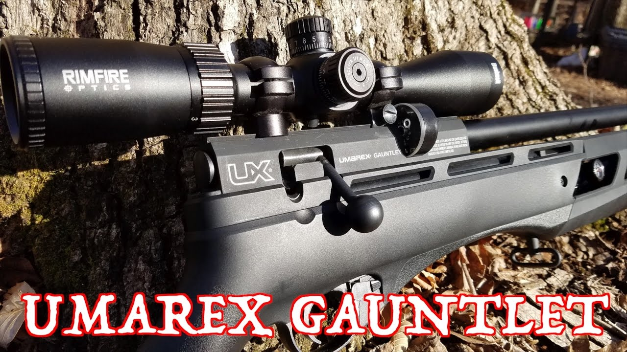 Rifles Gauntlet PCP – Rifles de aire