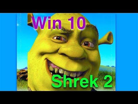 Shrek 2 Windows 10 run error/ Ошибка запуска Шрек 2 на 10 винде.
