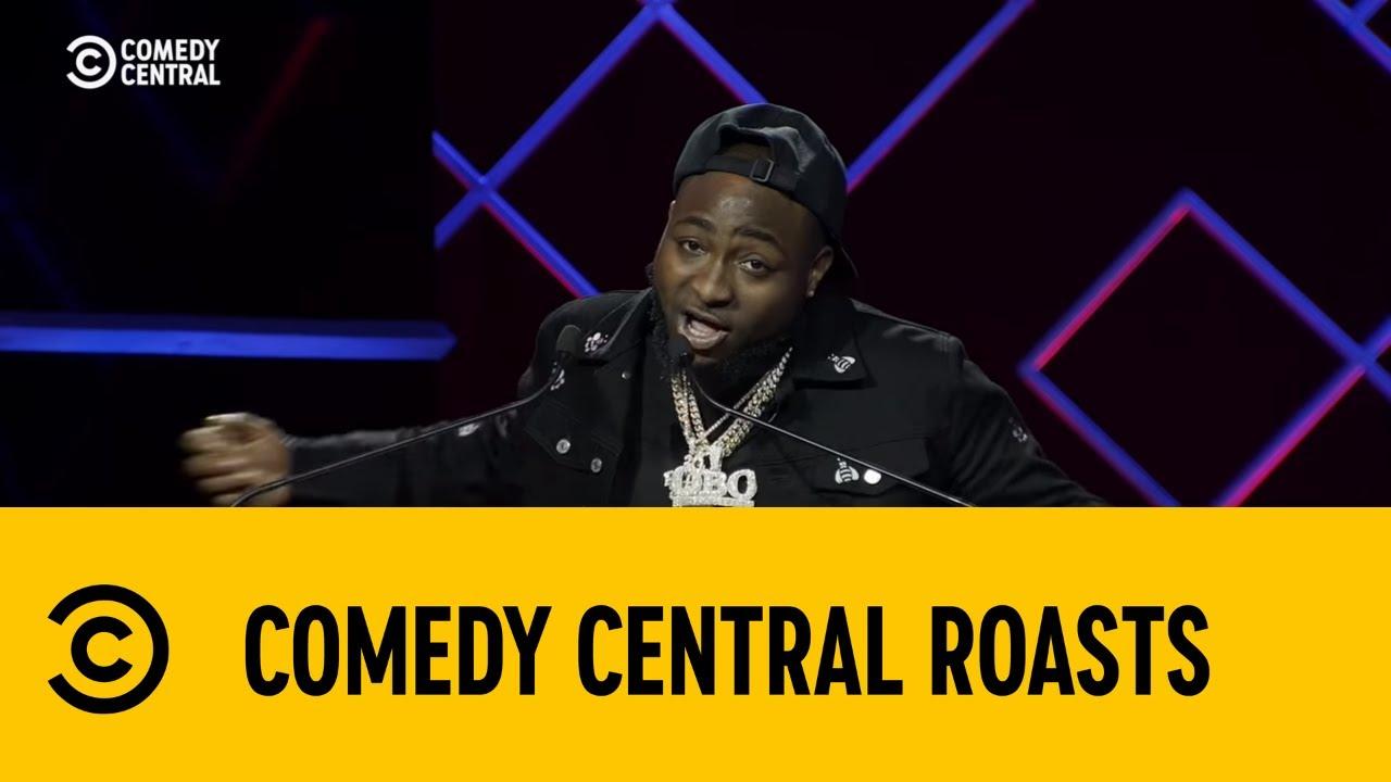 Davido Roasts Francois Van Coke | The Comedy Central Roast of AKA