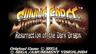 GBA Shining Force: Resurrection of the Dark Dragon