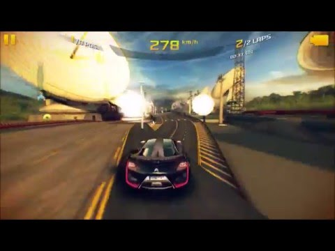 Insane GamePlay - Asphalt 8: Airborne, french guiana route
