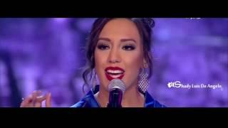 عرب ايدول المرحلة النهائية نادين خطيب اغنية انا قلبي ليك ميال Arab Idol 2016