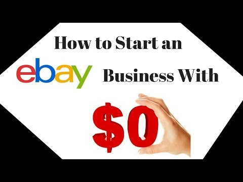 How to Start & Grow an eBay Business with a $0 investment - No Fancy Equipment Necessary