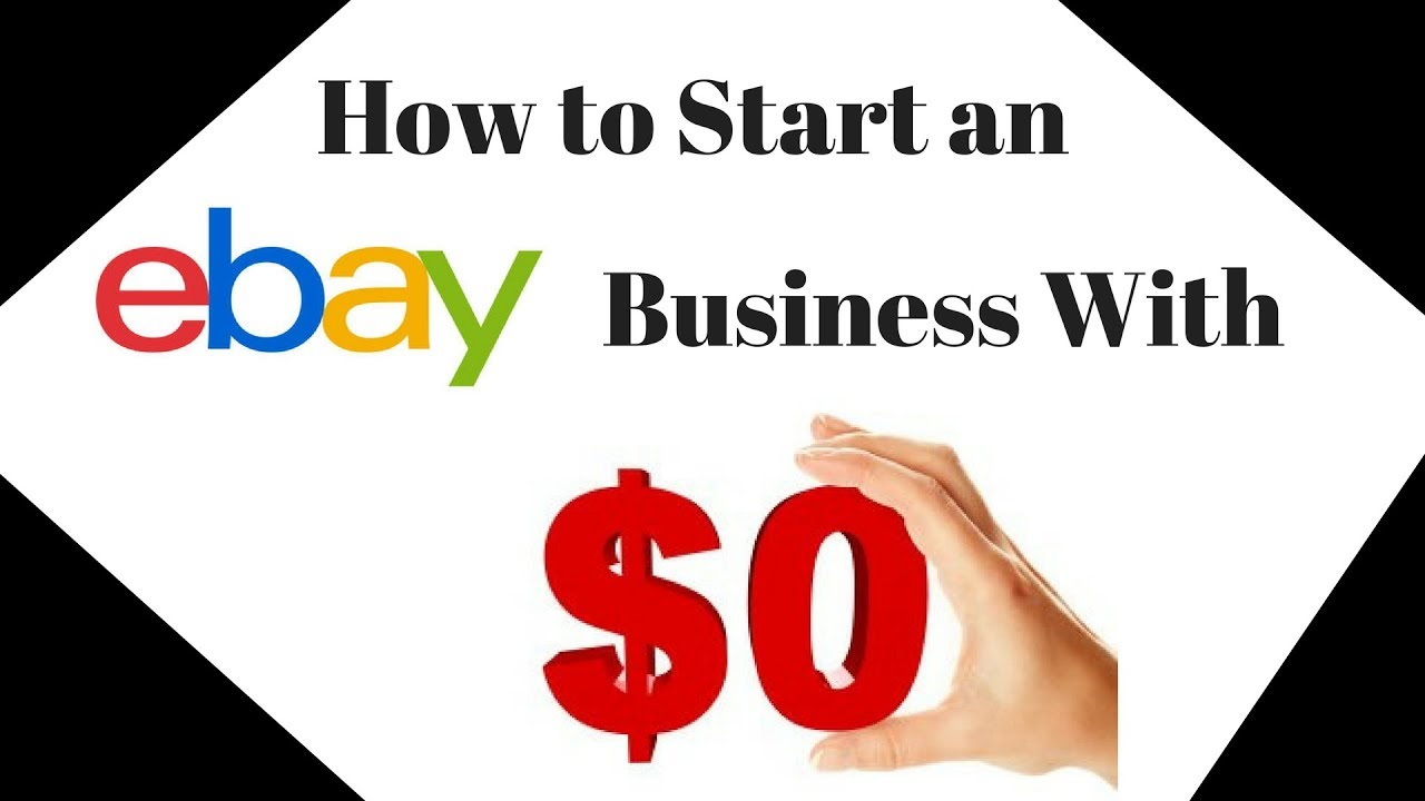 How To Start Grow An Ebay Business With A 0 Investment No Fancy Equipment Necessary Youtube