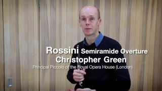 Видео урок флейта пикколо, солист оркестра театра Ковент Гарден, Лондон