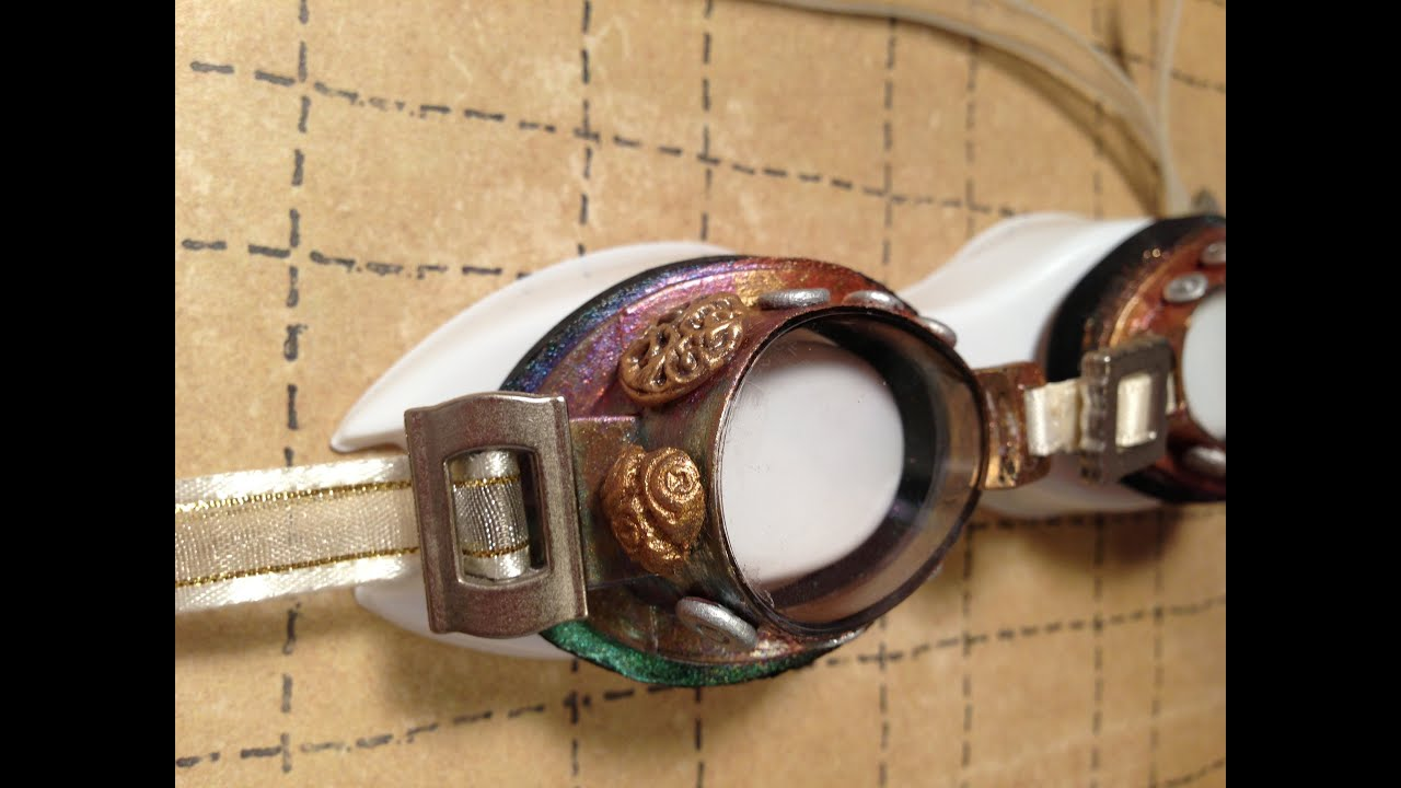 easy steampunk goggles diy youtube