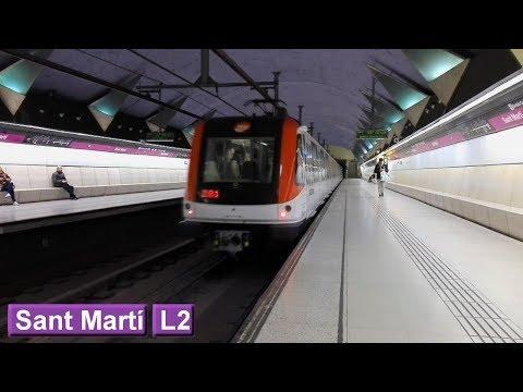 Metro de Barcelona : Sant Martí L2 ( TMB 9000 )