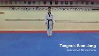 Taegeuk Sam Jang - Yellow Belt Stripe Form