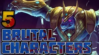 5 Brutal Characters in League of Legends
