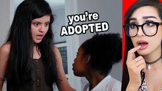 Girl Won't Accept Adopted Sister Then Learns The Truth