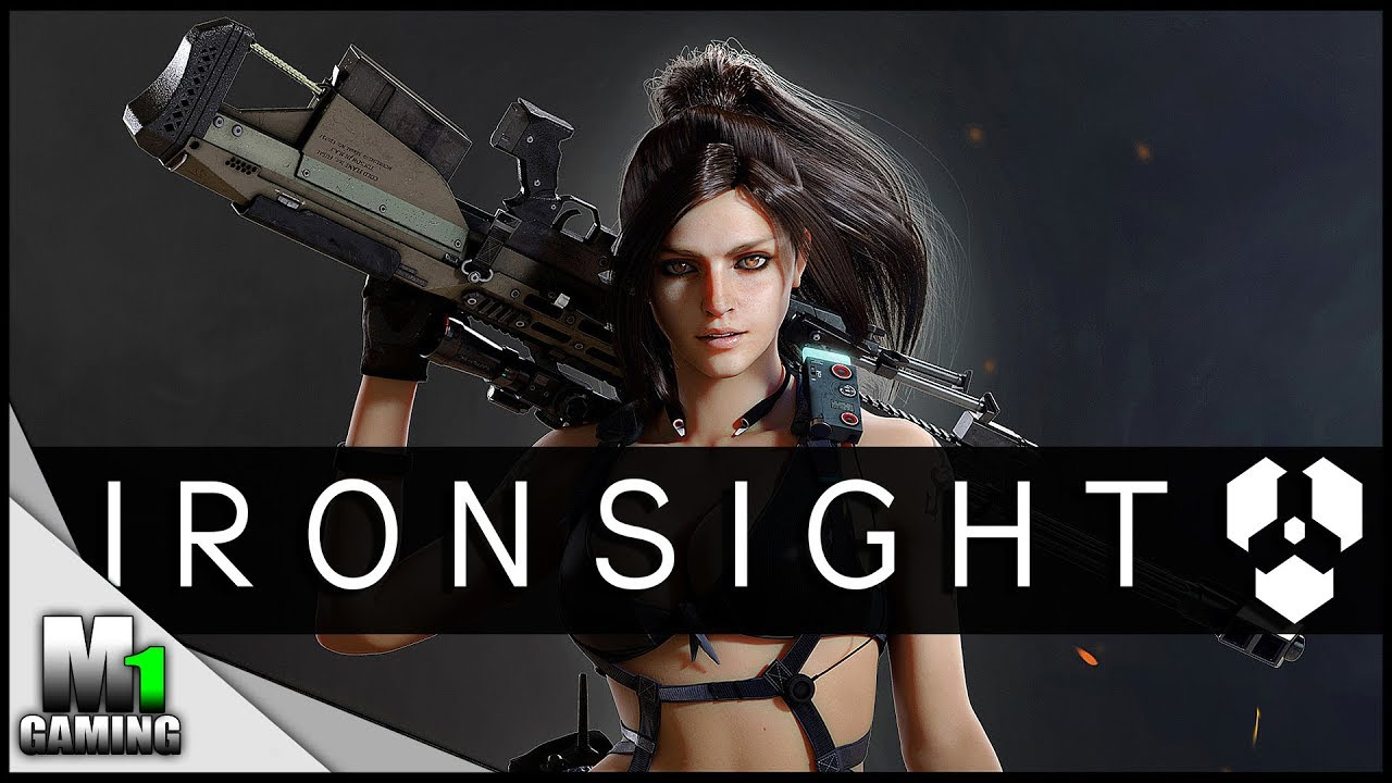 Ironsight - Girl playing Ironsight for the FIRST time!