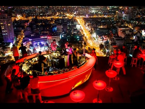 chill sky bar in ho chi minh city youtube. Black Bedroom Furniture Sets. Home Design Ideas