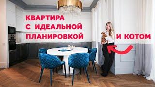 ОБЗОР КВАРТИРЫ 70 КВ.М. С ИДЕАЛЬНОЙ ПЛАНИРОВКОЙ. ДИЗАЙН ИНТЕРЬЕРА.