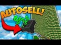 2000 IQ MASSIVE CACTUS FARM   Minecraft Skyblock