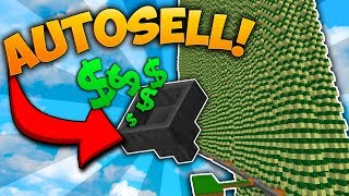 2000 IQ MASSIVE CACTUS FARM | Minecraft Skyblock