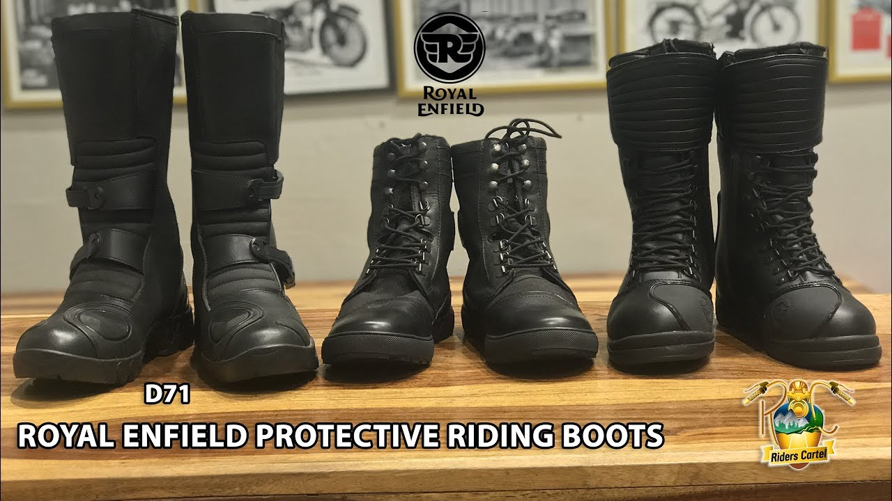 Riding Boots D71 ADV PROTECTIVE RIDING