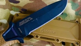 Gerber Strongarm Fixed Blade: Survival, Camping, General Use Knife