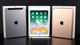 Apple iPad (6th Gen) 2018: Unboxing & Review