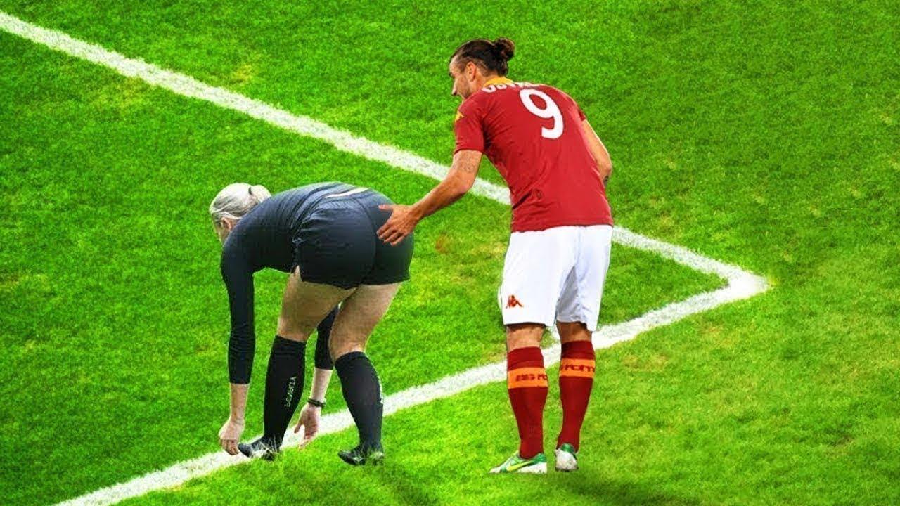 Futbolda kameralara yansıyan komik ve eğlenceleri anlar
