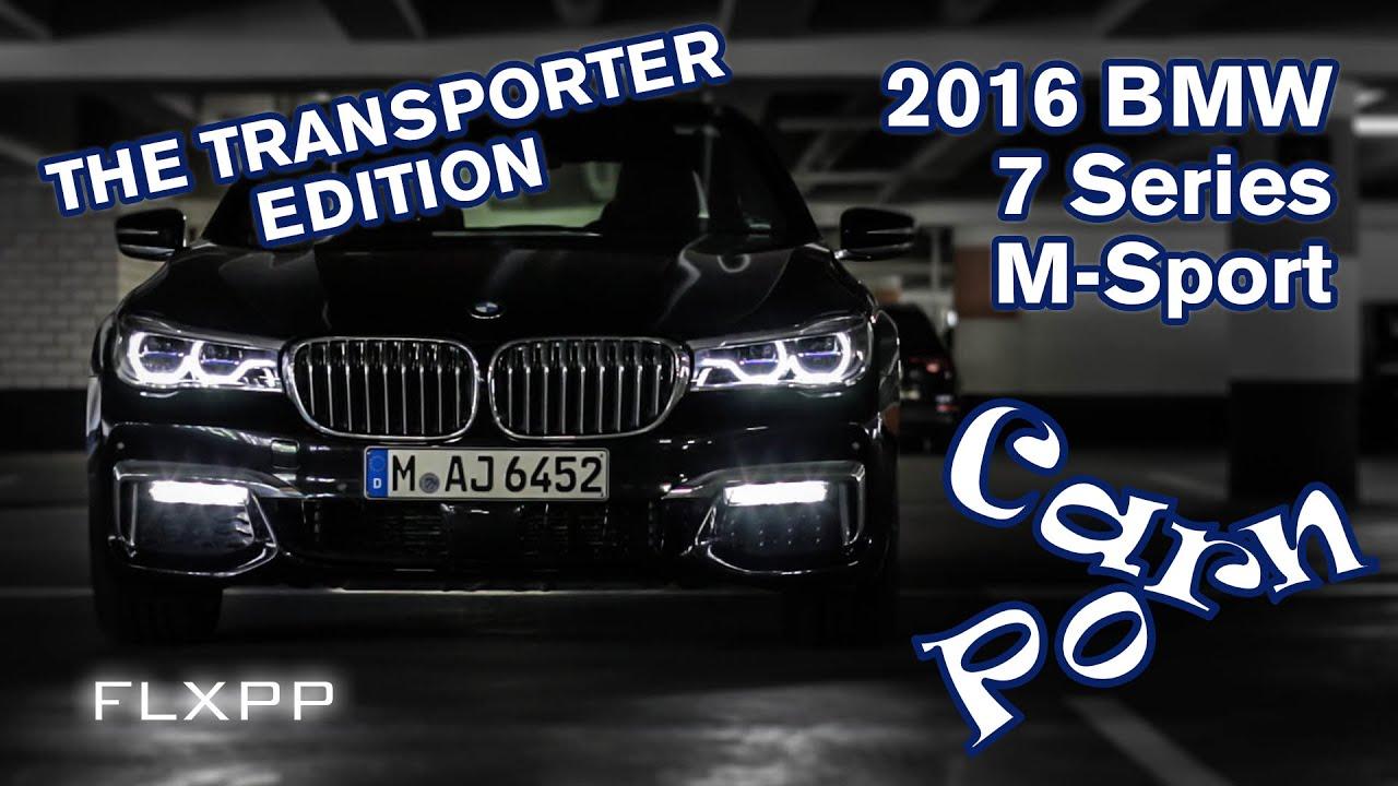 bmw 7er 7 series g11 the transporter edition car porn flxpp 2016 youtube. Black Bedroom Furniture Sets. Home Design Ideas