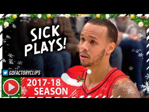 Shabazz Napier Full Highlights vs Sixers (2017.12.28) - 23 Pts, CRAZY 4th Qtr!