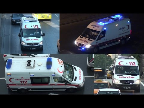 istanbul Ambulans  //  Emergency Medical Services Istanbul
