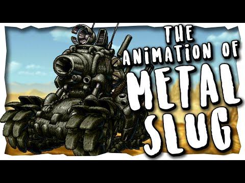 The Animation Of Metal Slug