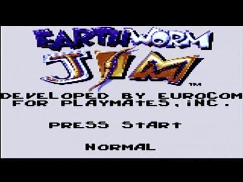 Earthworm Jim - Sega Game Gear Gameplay