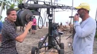 Detrás de cámara: El conquistador  del caribe /Carlos O. Cano / Operador grúa