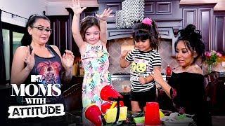 Snooki & JWoww Make DIY Slime | Moms with Attitude | MTV