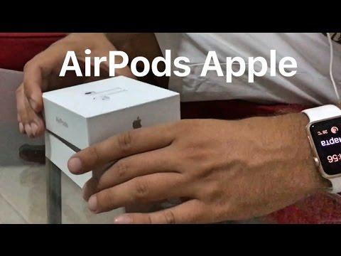 Полный обзор и распаковка наушников Apple AirPods