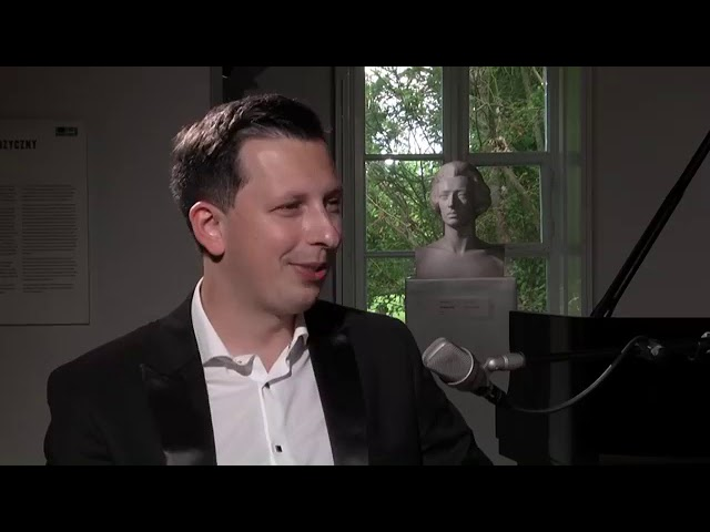 Sunday Chopin Recitals - Interview with Łukasz Krupiński