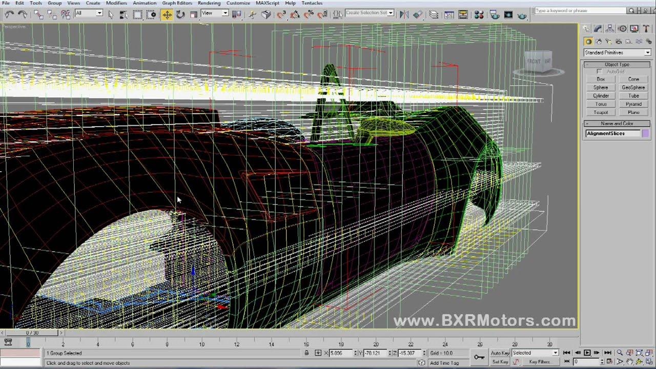 Design of car model - Bailey Blade Xtr Car Design Tutorial How To Make Form Sections From 3d Model Part 23