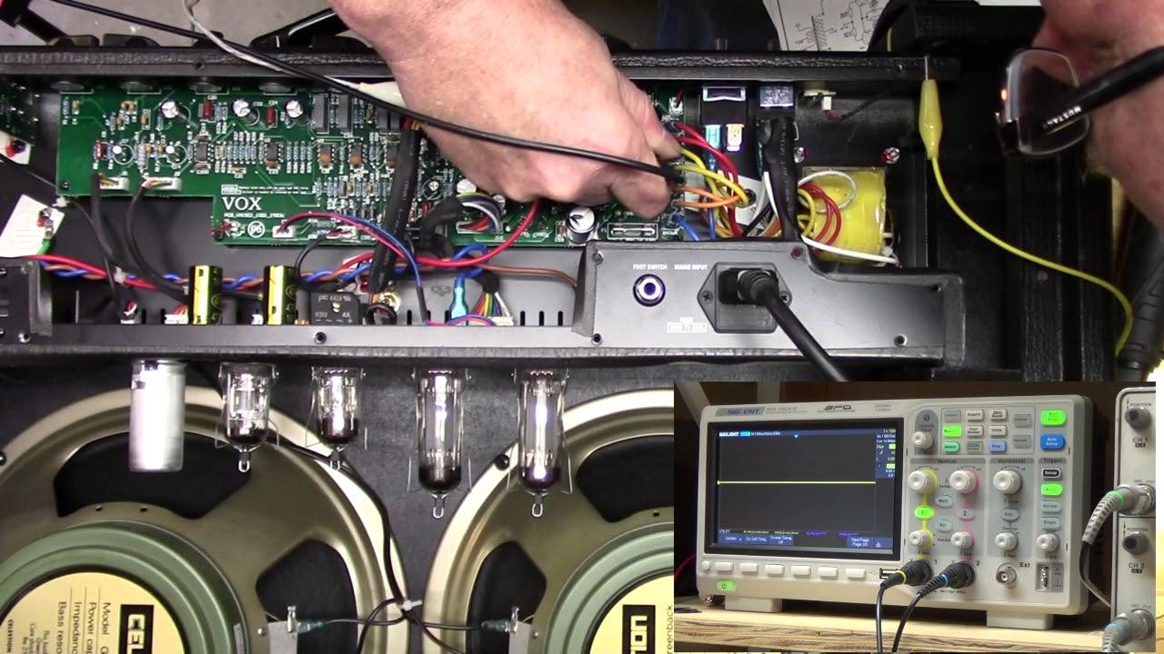 vox ac15 c2 c1 guitar amplifier repair [ 1280 x 720 Pixel ]