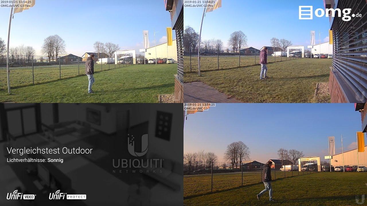 Ubiquiti UniFi Video im Vergleich   UVC-G3 & UVC-G3-PRO & UVC-G3-FLEX
