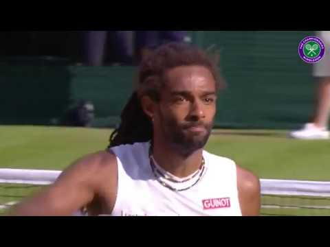 Dustin Brown Wimbledon Trick Shot Compilation