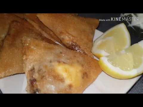 bricks-viande-hachée-fromage- -recette-algérienne- -spécial-ramadan