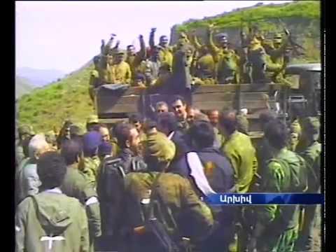 """Nagorno-Karabakh War / Liberation of """"Lachin"""" Bertsor"""
